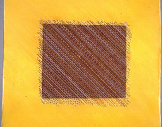 Judith Kunda, Bright square yellow, 1985
