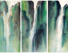 Mayee Futterman, Waterfalls Triptych, 2013