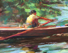 R.S. Riddick, Morning Row, 1979