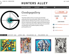 Good Eye Gallery joins Hunters Alley