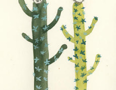 Ashley Mistriel, Cactus Couple, 2013