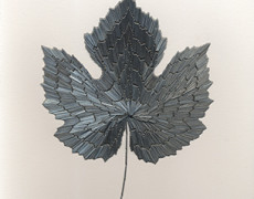 Alison Foshee, Large Grape Leaf, 2015