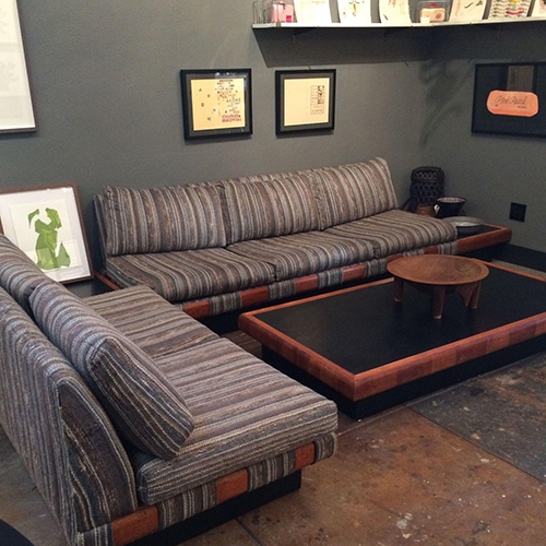 1960s Adrian Pearsall Platform Sofa And Table Set Good Eye Gallery