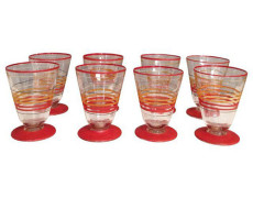 Vintage Cordial Glasses – Set of 8