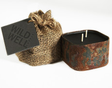 Wild Well Supply | PARLOR – Pipe Tobacco, Leather & Vanilla Candle