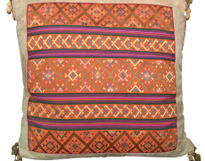 Suede Double Sided Tapestry Pillows A Pair