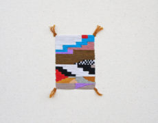 Stephanie K. Clark, Mini Rug Series (geometric 2), 2015