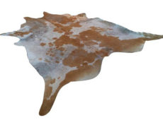 Distressed Cowhide Rug