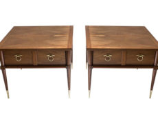 American of Martinsville Side Tables – A Pair