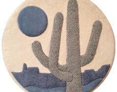 Saguaro Carpet Wallhanging