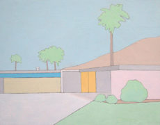 Laura Hope Mason, Yellow Garage, 2016