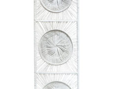 Boho Chic White Wicker Wall Decor