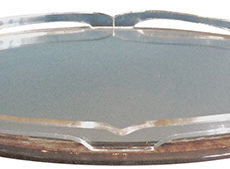 Lucite Mirrored Tray
