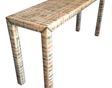 Upholstered Sofa Table