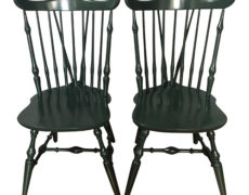 Windsor Lacquer Side Chairs – A Pair