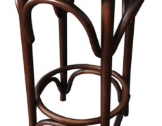 Bentwood Caned Counter Stool