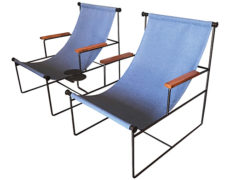 Custom Made Sling Chairs – a Pair