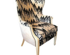 Custom Wingback Chair